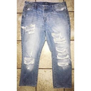 Hollister High Rose Vintage Straight Jeans